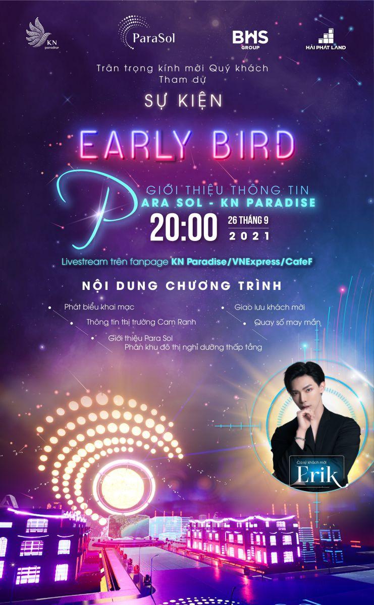 Sự kiện Early Bird: Giới thiệu thông tin Para Sol - KN Paradise